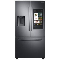 RF27T5501SG Samsung 36 Inch French Door Smart Refrigerator - 26.5 cu. ft., Black Stainless Steel