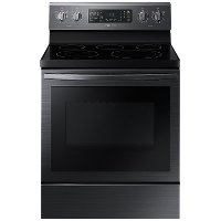 NE59T7511SG Samsung 30 Inch Electric Range with Convection and Air Fry - 5.9 cu. ft. Black Stainless Steel