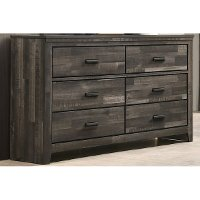 Rustic Contemporary Brown Dresser - Carter