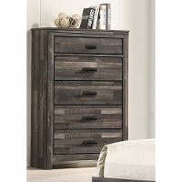 Rustic Contemporary Brown Chest of Drawers - Carter