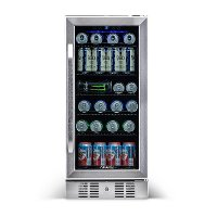 ABR-960 NewAir 96 Can Beverage Mini Fridge - Stainless Steel