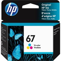 3YM55AN#140 HP 67 TRI COLOR INK CARTRIDGE HP 67 Tricolor Ink Cartridge