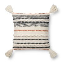 Magnolia Home Furniture Natural and Multi Colored Throw Pillow