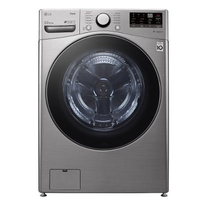 WM3600HVA LG Front Load Washer with TurboWash 360 Steam - 4.5 cu. ft. Graphite Steel