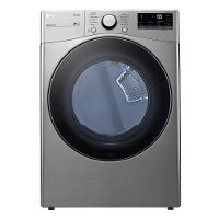 DLE3600V LG Ultra Large Capacity Smart Front Load Electric Dryer with Built-In Intelligence - 7.4 cu. ft. Graphite Steel