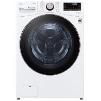 WM4000HWA LG Large Capacity Smart Front Load Washer with TurboWash 360° and WiFi - 4.5 cu. ft. White