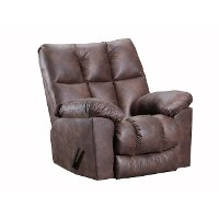 Walnut Brown 3 Way Rocker Recliner - Dorado