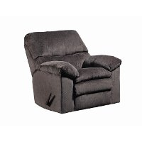 Chocolate Brown 3 Way Rocker Recliner - Albany