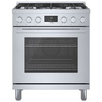 HGS8055UC Bosch 30 Inch 800 Freestanding Gas Range - 3.6 cu. ft., Stainless Steel