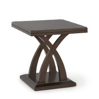 Traditional Espresso Brown End Table - Jocelyn