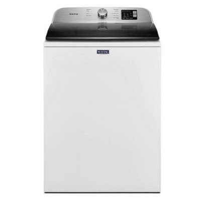 MVW6200KW Maytag High Efficiency Top Load Washer with Deep Fill Option - White 4.8 cu.ft.