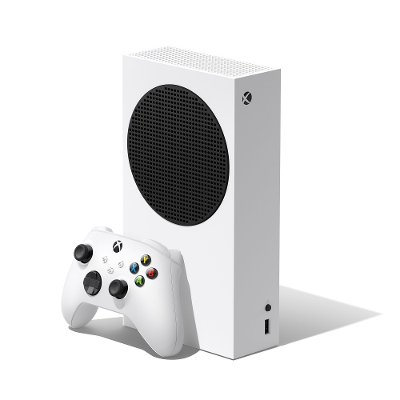 RRS-00001/5979904 Microsoft Xbox Series S 512GB All-Digital Console - White