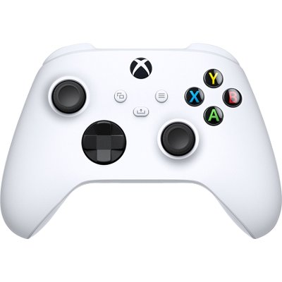 QAS-00001/5979901 Microsoft Controller for Xbox Series X, Xbox Series S and Xbox One - Robot White