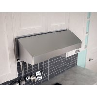 AK7136BS-BF Zephyr Gust 36 Inch Under Cabinet Hood - Stainless Steel