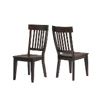 Dark Brown Dining Room Chair - Northern Hawk