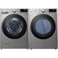 KIT LG Graphite Steel Washer and Dryer Pair - 3600