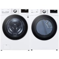 KIT LG Front Load Washer and Electric Dryer Set - 4200