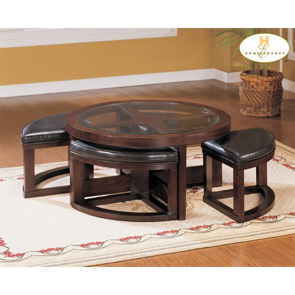 Shop Coffee Tables And Cocktail Tables RC Willey Furniture Store - Round cocktail table with stools