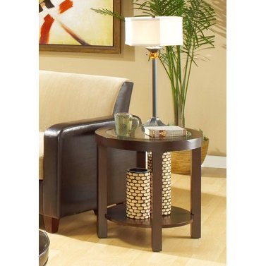 Buy your end tables from rc willey for your den round end table aloadofball Image collections