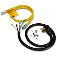 DUAL-FUEL-RANGE-KIT Dual Fuel Range Kit with Gas Line and 4 Prong Power Cord