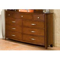 Brown Classic Contemporary Youth Dresser - Village Craft