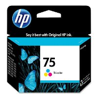 CB337WN140 HP 75 Tri-color Inkjet Print Cartridge