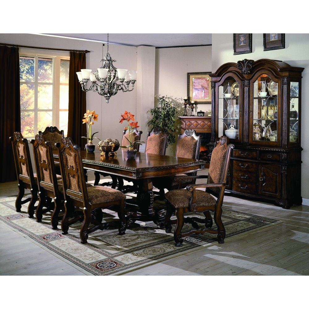5 piece traditional dining set neo renaissance - Traditional Dining Table And Chairs