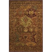 8 x 11 Large Beige Persian-Style Area Rug - Jaipur
