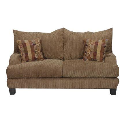 Casual Contemporary Brown Loveseat - Laguna  sc 1 st  RC Willey : laguna sectional sofa - Sectionals, Sofas & Couches