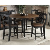 Intercon 5 Piece Dining Set Rc Willey Furniture Store