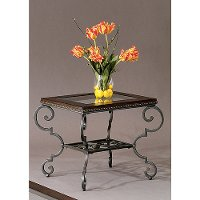 Bassett Mirror End Table Rc Willey Furniture Store