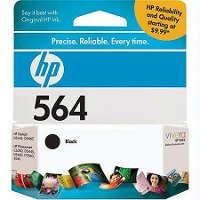CB316WN#140 HP 564 Black Inkjet Print Cartridge