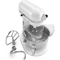 KP26M1XW Professional 600 Series White Gloss KitchenAid Mixer