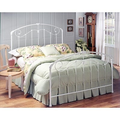 325BFR Cottage Style White Full Metal Canopy Bed- Maddie  sc 1 st  RC Willey & Cottage Style White Full Metal Canopy Bed- Maddie | RC Willey ...