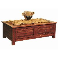 Antique Classic Brown Coffee Table - Vienna