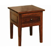 Antique Classic Brown End Table - Vienna