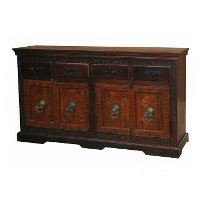 Desert Rose Dark Brown Sideboard