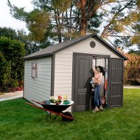 6433 Lifetime 11 ft.  x 11 ft. Outdoor Storage Shed Building