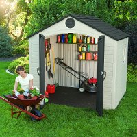 6406 Lifetime 8 ft. x 5 ft. Outdoor Storage Shed