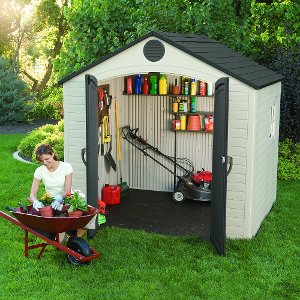 Backyard storage shedsLifetime Storage ShedsRC Willey