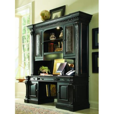 Telluride Furniture Wood Desk With Hutch Rc Willey