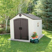 6405 Lifetime 8 ft. x 10 ft. Outdoor Storage Shed