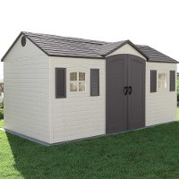 6446 Lifetime 15 ft. x 8 ft. Side-Entry Garden Storage Shed