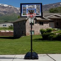 51550 Lifetime 48 in. Courtside Portable Basketball Hoop