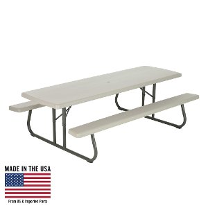 Folding Picnic Table2212325999 · 80123 Lifetime Products 8 Ft.