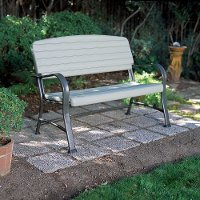 2871 Lifetime Products Outdoor Glider Bench