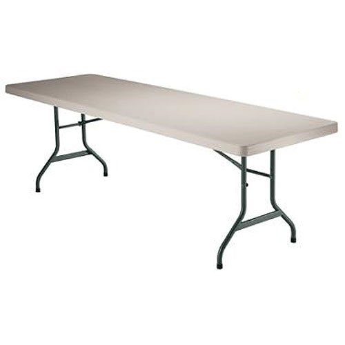 Lifetime 6 Foot Folding Banquet Table Almond