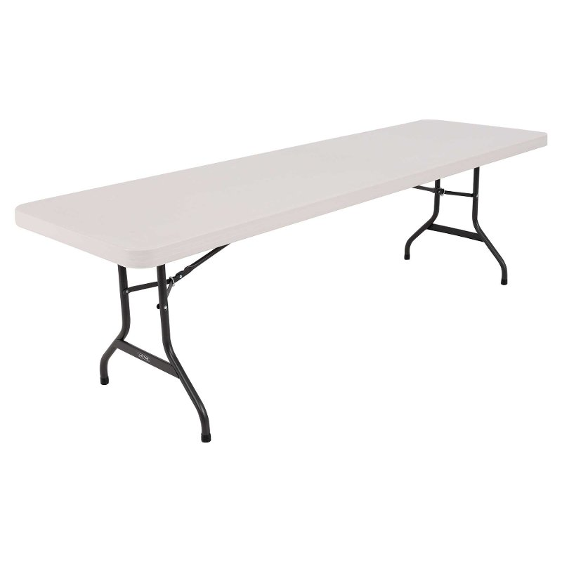 Lifetime 8 Foot Folding Banquet Table Almond
