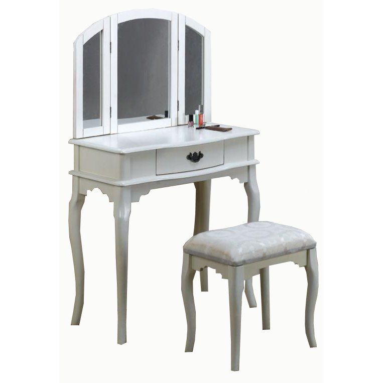 White Vanity Set. Buy a vanity for your bedroom at RC Willey