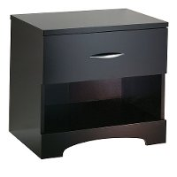 3159062 Chocolate 1-Drawer Nightstand - Step One